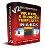 Thumbnail *NEW* HTML & Blogger Templates In A Box 2011
