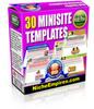 Thumbnail *NEW* 30 Mini Site Templates MRR.2011