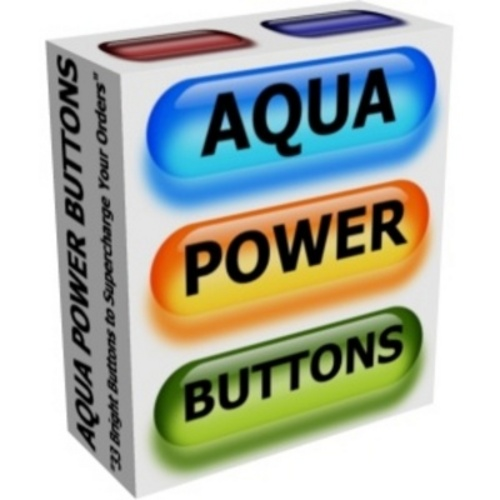 Product picture *NEWAqua Power Buttons Graphics Pack with 2011