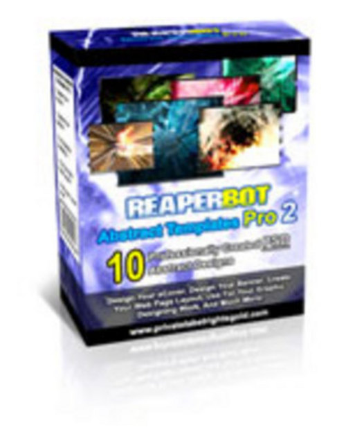 Product picture *NEW* REAPERBOT Abstract Templates Pro 2-MRR 2011