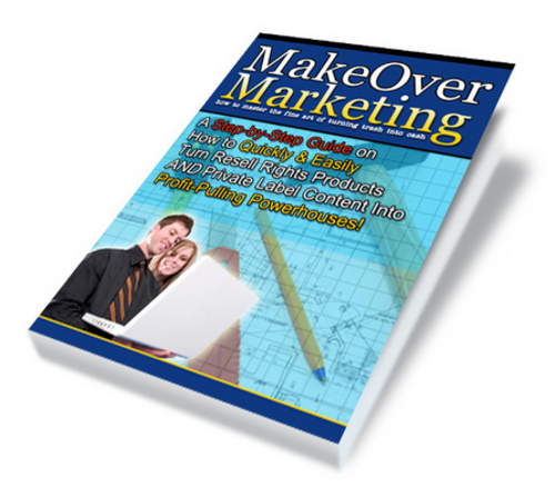 Product picture *NEW* Make Over Marketing 2011