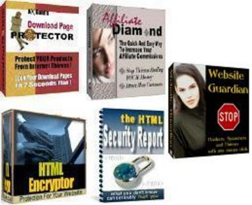 Product picture *New* web security kit With Master Resale Rights. 2011
