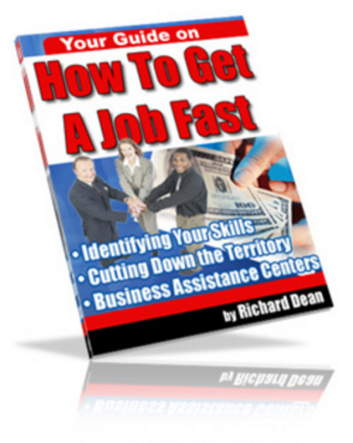 Product picture *NEW* How To Get A Job Fast (MRR) 2011