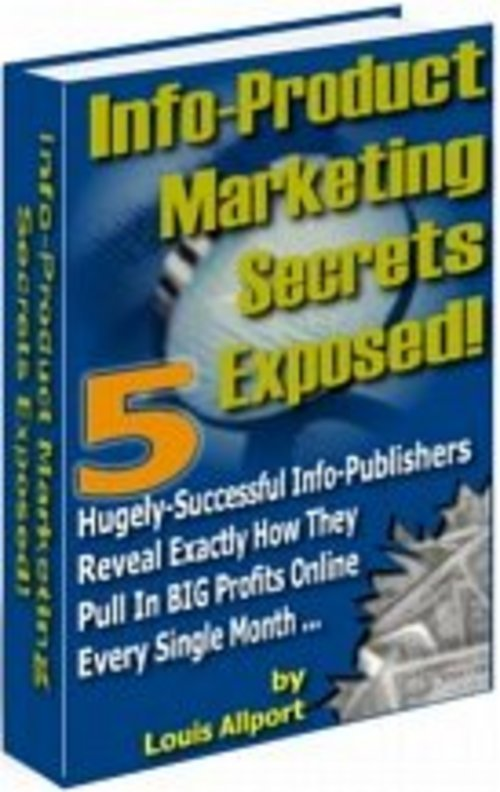 Product picture *NEW* Info Products Marketing Secrets Exposed.zip 2011