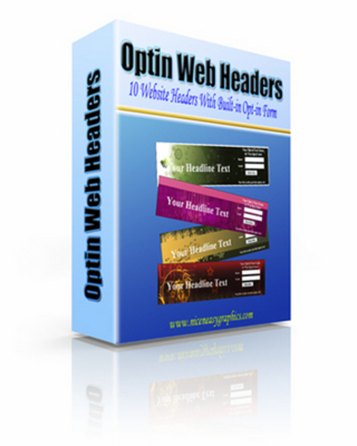Product picture *NEW* Optin Web Headers 2011