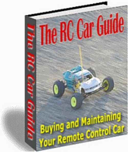 Product picture *NEW* The RC Car Guide 2011
