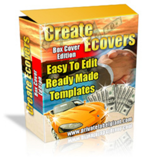 Product picture *NEW* Software Box Creator PLR.2011