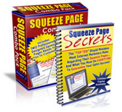 Product picture *NEW* Squeeze Page Profit System.zip 2011