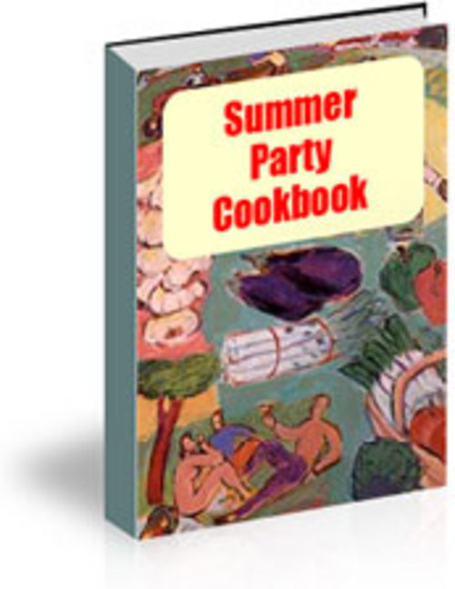 Product picture *NEW* Summer Party Cooking Recipes.zip 2011