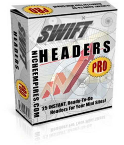 Product picture *NEW* Swift Headers Pro MRR.2011