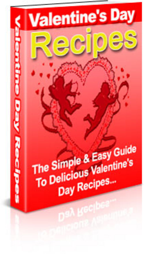 Product picture *NEW* valentine recipes.zip 2011