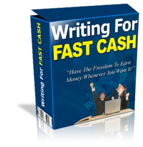 Product picture *NEW* writing for fastcash.zip 2011