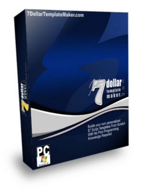 Product picture 7 Dollar Template Maker 2011.zip